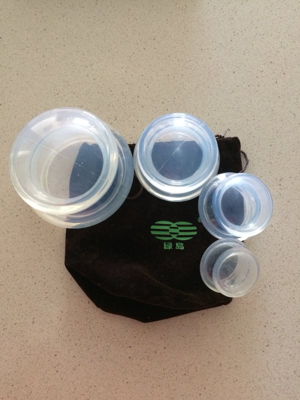 Silicone Cupping Cups 0
