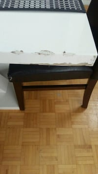 rectangular black wooden coffee table Montreal, H3G