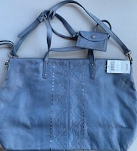 Nwt lucky brand leather shoulder crossbody bag retail $198
