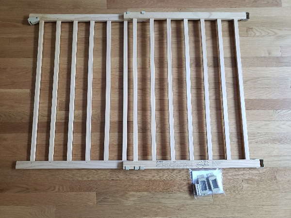 Used Evenflo Top Of Stair Plus Baby Gate For Sale In