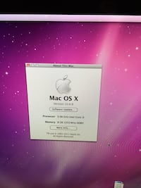 "21.5 "" IMac desktop and External storage Halifax, B3L 1N5"