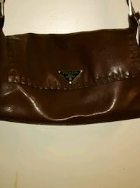 Prada brown leather purse  Queens, 11432