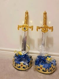 Crown and sword favor for boys Brampton, L6Z 0B6