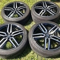 Honda Accord sport rims don't need anymore they been seating in the garage for some time now  2346 mi