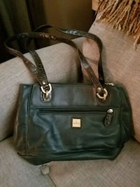 black leather 2-way handbag Norfolk, 23513