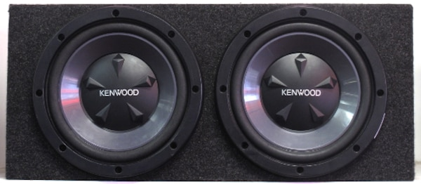 Kenwood Dual 12-Inch Subs w/ Enclosure