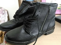 black leather boots Greater Noida, 201310