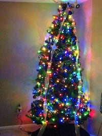 7FT CHRISTMAS TREE AND SNOWMAN $125 FIRM. Fort Myers, 33919