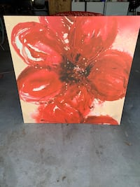 IKEA Red Flower Picture Land O Lakes, 34638