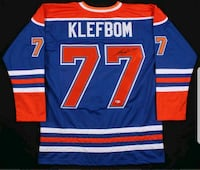 Oscar Klefbom signed and authenticated jersy Edmonton, T6X 0R9