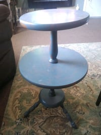 Nice Quality Mid Century Modern Double Tiered Table/Stand Fort Thomas