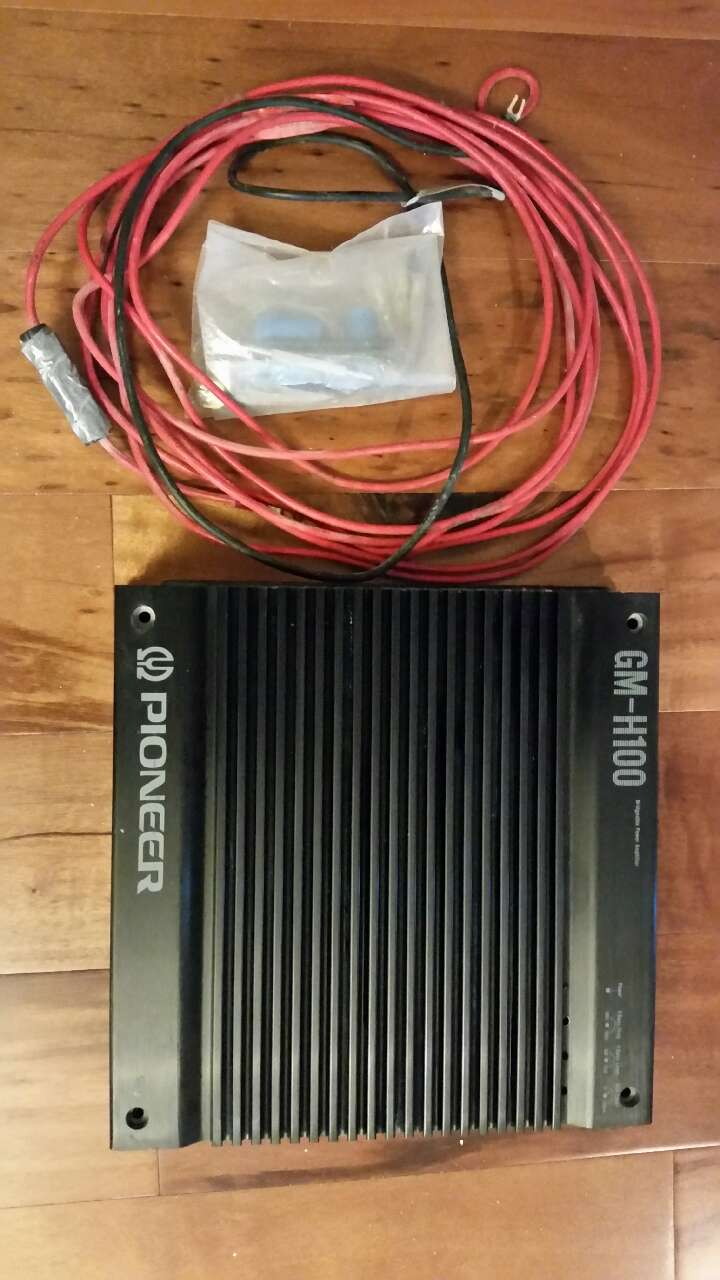 used pioneer gm h100 old school car amplifier for sale in slidell rh us letgo com Chevy Wiring Diagrams Automotive Chevy Truck Wiring Diagram