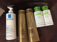 Brand new skin and hair products