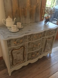 Vintage hand painted buffet Lusby, 20657