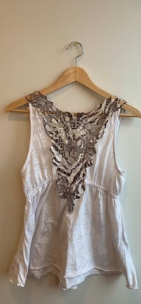 Back-lace tank top