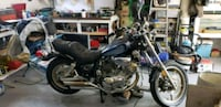 black and gray cruiser motorcycle Sherwood Park, T8A 0T3