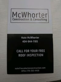 Roof replacement/inspection/repair
