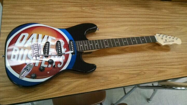Photo Dave & Buster's Electric Guitar