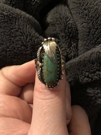 Native American Turquoise ring Council Bluffs, 51501