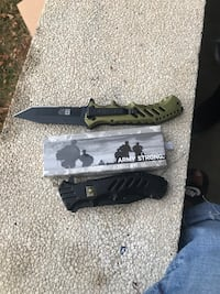 Brand new US ARMY STRONG KNIFES obo Wilmington, 19805
