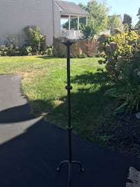 Tall Wrought iron floor candle stand candelabra 34 km
