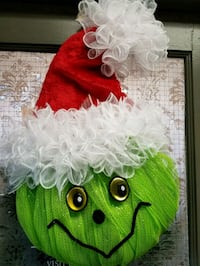 The Grinch Wreath