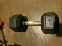 Lonely 25lb dumbell