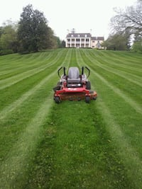 Spring  clean up trimming mulching and lown mowing Baltimore