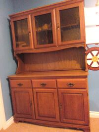 brown wooden cabinet with drawer Calgary, T3E 2L6