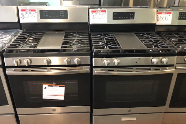 Ge stainless steel gas stove 10% off 7b60270c-6494-4ecf-86d7-5b98a6c19b3b