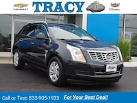 2014 Caddy *Cadillac* *SRX* Luxury Collection suv Blue Plymouth