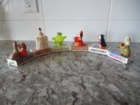 1998 McDonalds Movie Characters Train Set (complete) $10 PU Morinville Morinville