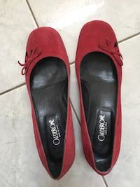 Italian leather suede flats Vancouver, V5T 1W6