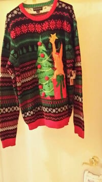 New Unisex XL Xmas Sweater Baltimore, 21244