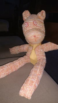 Hand Crafted Kitten Sock Doll Midwest City, 73110