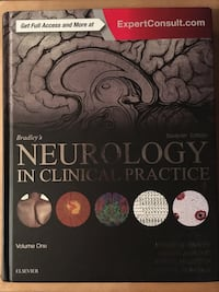 Bradley's Neurology in Clinical Practice Volume 1 South-West Oxford, N5C 3J7