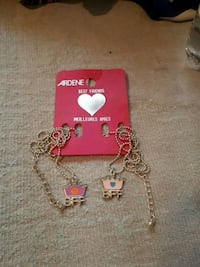 two gold-coloreed BFF pendant Ardene necklaces Halifax, B3R