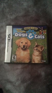 Dogs&cats ds game