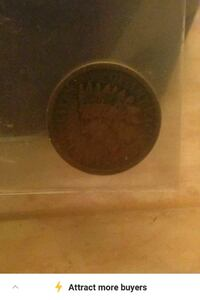 Very old Indian head penny Richmond Hill