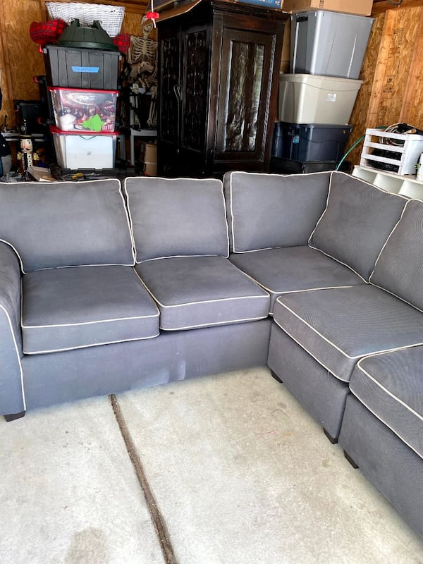 Sectional Couch - Gray 3