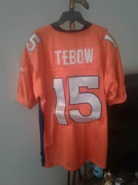 orange and gray Tebow 15 jersey Ponchatoula, 70454