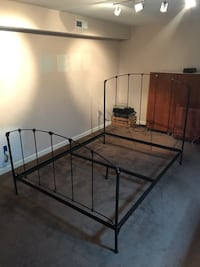 Wrought Iron queen size bed Clifton, 20124
