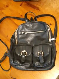 Jessica leather backpack new