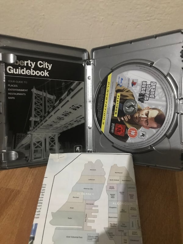 Orjinal Playstation 3 Ps3 GTA 4 GTA IV Grand Theft Auto 4 fb589a64-7b05-4c9e-93c3-65230cc6564a