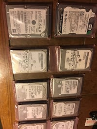[NEW] 500 GB different variety of Hard drives , L2G 0E8