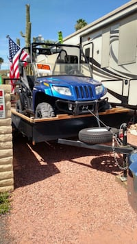 blue and black dune buggy Mesa, 85207