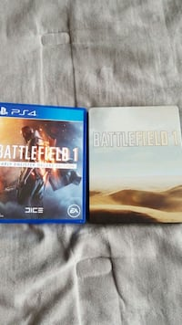 Battlefield 1 and PS4 game cases Dacula, 30019