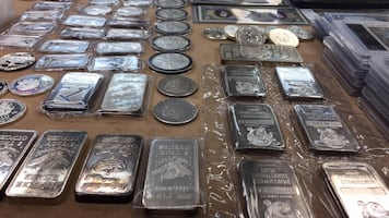 Silver Bars and Coins for sale!