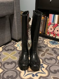 Black Rain Boots Clearwater, 33763