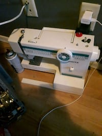 white and green White electric sewing machine Winnipeg, R2V 3M1